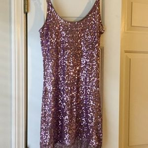 Charlotte Russe Tops - Sequined shirt